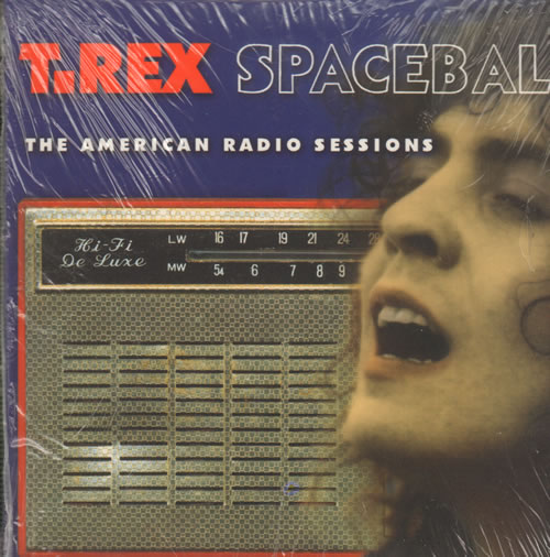 T-Rex / Tyrannosaurus Rex Spaceball - The American Radio Sessions - Sealed 2 CD album set (Double CD) UK REX2CSP638695