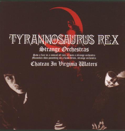 "T-Rex / Tyrannosaurus Rex Strange Orchestras 7"" vinyl single (7 inch record) UK REX07ST682882"