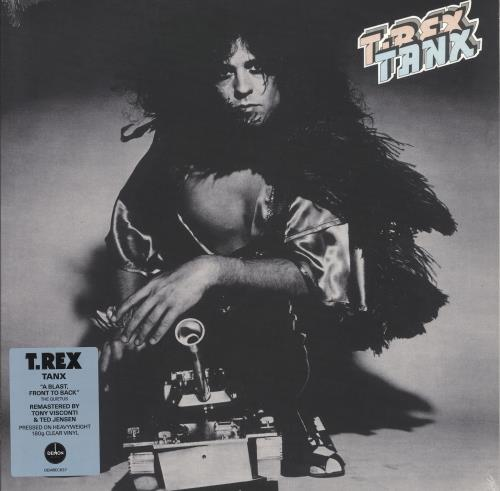 T-Rex / Tyrannosaurus Rex Tanx - 180gm Clear Vinyl - Sealed vinyl LP album (LP record) UK REXLPTA739474
