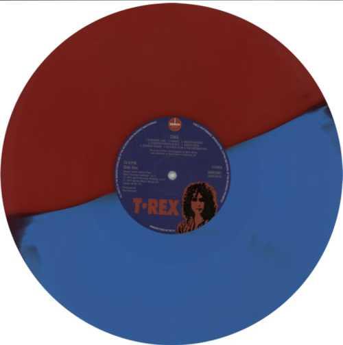 T-Rex / Tyrannosaurus Rex Tanx - Red/Blue Vinyl - RSD vinyl LP album (LP record) UK REXLPTA602836
