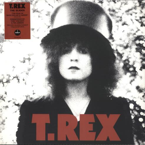 T-Rex / Tyrannosaurus Rex The Slider - 180gm Clear Vinyl - Sealed vinyl LP album (LP record) UK REXLPTH739473
