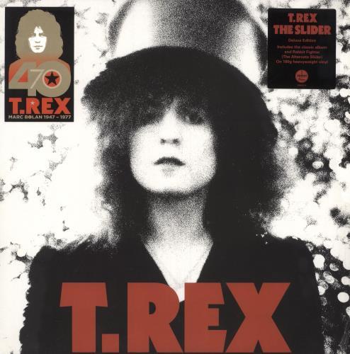 T-Rex / Tyrannosaurus Rex The Slider 2-LP vinyl record set (Double Album) UK REX2LTH745407