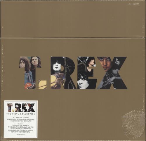 T-Rex / Tyrannosaurus Rex The Vinyl Collection - Gold Edition Vinyl Box Set UK REXVXTH707286