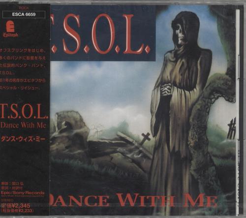 T.S.O.L. Dance With Me CD album (CDLP) Japanese 0B4CDDA730020