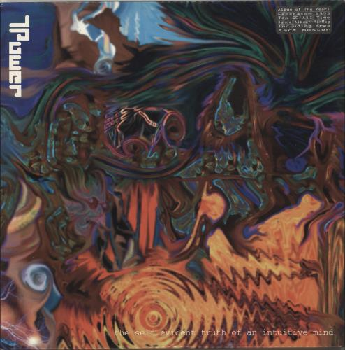 T. Power The Self Evident Truth Of An Intuitive Mind + Poster 2-LP vinyl record set (Double Album) UK YGB2LTH705940