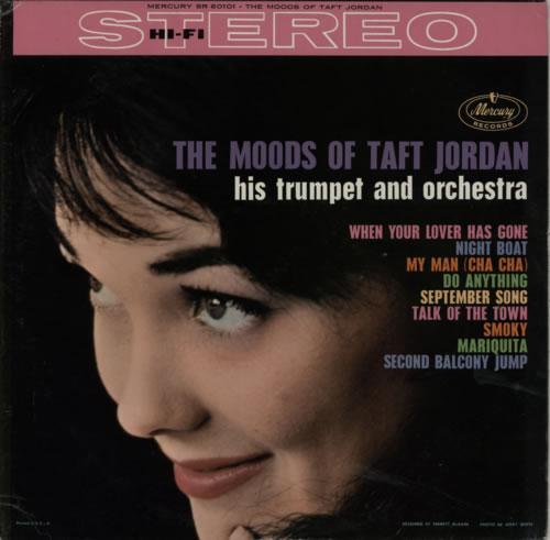Taft Jordan The Moods Of Taft Jordan vinyl LP album (LP record) US VDJLPTH585721