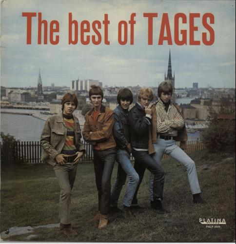 Tages The Best Of Tages vinyl LP album (LP record) Swedish GE-LPTH651124