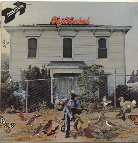 Taj Mahal Taj Mahal - 1st vinyl LP album (LP record) UK TAJLPTA698638