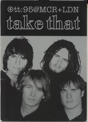 Take That @MCR + LDN + ticket stubs tour programme UK TAKTRMC55293