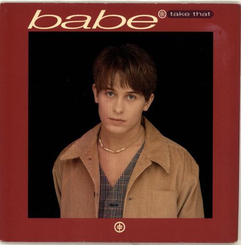 "Take That Babe + Mark Frame Sleeve 7"" vinyl single (7 inch record) UK TAK07BA29556"