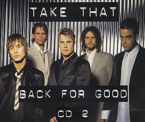 "Take That Back For Good - CD 2 CD single (CD5 / 5"") UK TAKC5BA55689"