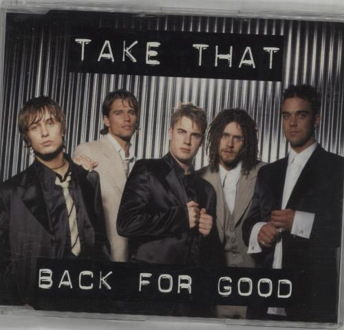 "Take That Back For Good CD single (CD5 / 5"") German TAKC5BA43228"