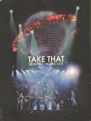 Take That Beautiful World Live DVD German TAKDDBE673818