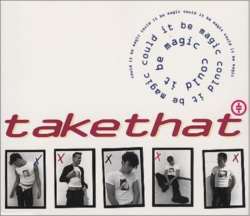 """Take That Could It Be Magic CD single (CD5 / 5"""") German TAKC5CO12585"""