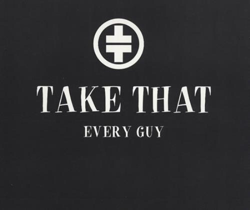 "Take That Every Guy CD single (CD5 / 5"") UK TAKC5EV59522"