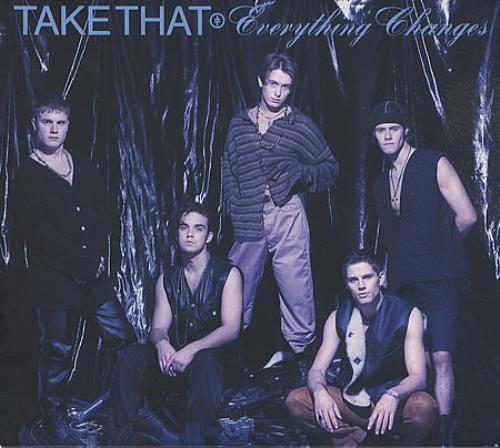 Take That Everything Changes CD album (CDLP) Japanese TAKCDEV414925