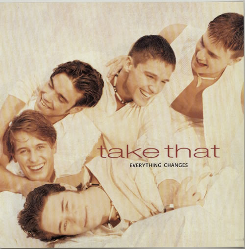 Take That Everything Changes display UK TAKDIEV634563