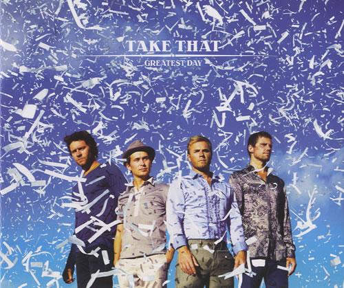 "Take That Greatest Day CD single (CD5 / 5"") German TAKC5GR458126"