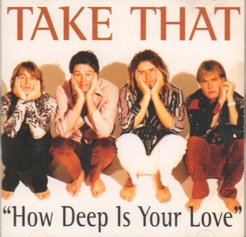 "Take That How Deep Is Your Love CD single (CD5 / 5"") Japanese TAKC5HO673981"