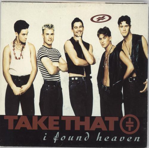 "Take That I Found Heaven - Poster Sleeve 7"" vinyl single (7 inch record) UK TAK07IF19595"