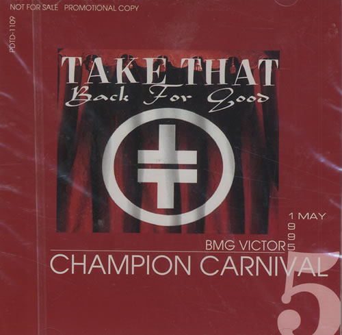 Take That It Only Take A Minute/I Found Heaven/Back For Good 4-CD album set Japanese TAK4CIT428324