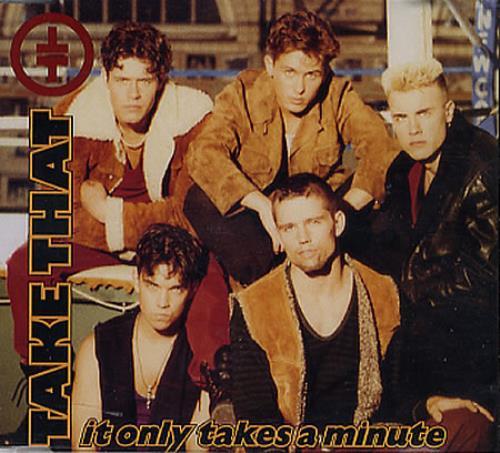 """Take That It Only Takes A Minute CD single (CD5 / 5"""") German TAKC5IT13523"""