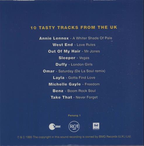Take That Never Forget - On Take That & Satay Sampler CD album (CDLP) UK TAKCDNE53926
