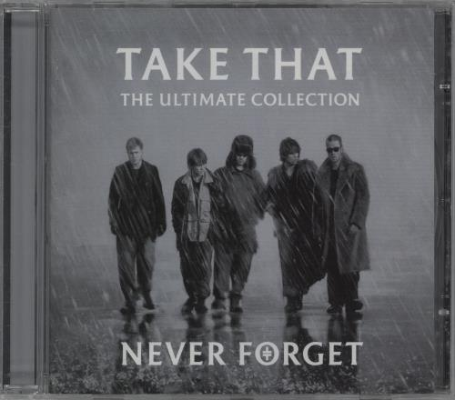 Take That Never Forget - The Ultimate Collection CD album (CDLP) UK TAKCDNE340945