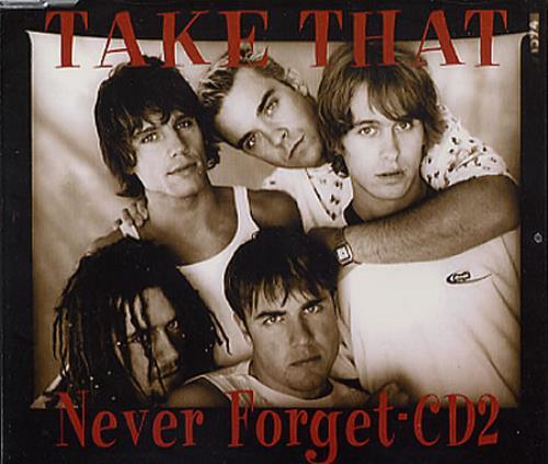 Take That Never Forget 2-CD single set (Double CD single) UK TAK2SNE231704