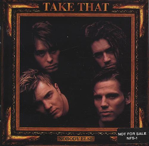 Take That Nobody Else - No Robbie On Sleeve! CD album (CDLP) US TAKCDNO53946
