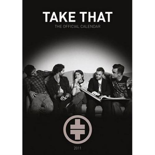 Take That Official Calendars 2011 calendar UK TAKCAOF528775