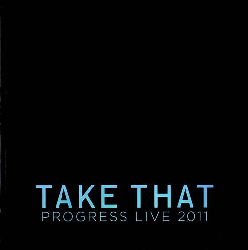 Take That Progress Live 2011 tour programme UK TAKTRPR559920