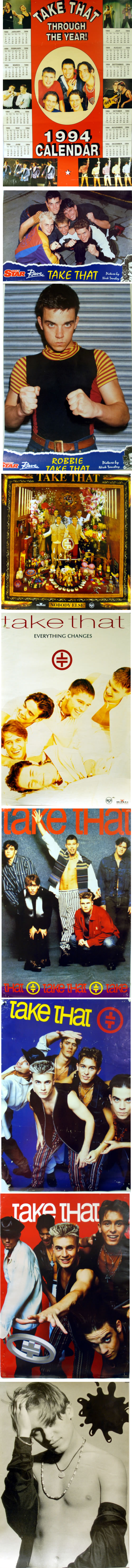 Take That Quantity of 25 Promotional & Collectors Posters poster UK TAKPOQU619647