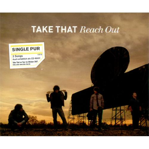 "Take That Reach Out CD single (CD5 / 5"") German TAKC5RE415674"