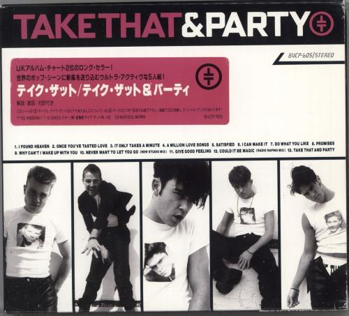 Take That Take That & Party + Slipcase CD album (CDLP) Japanese TAKCDTA118590