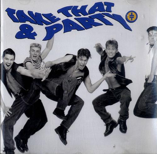 Take That Take That & Party CD album (CDLP) UK TAKCDTA605947