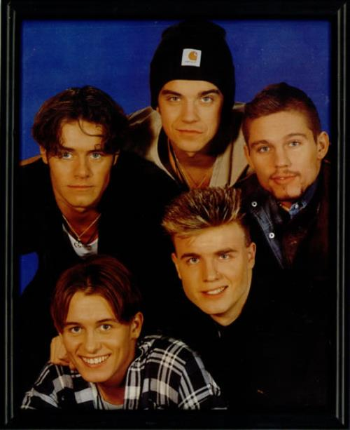 Take That Take That Framed Photograph memorabilia UK TAKMMTA507583
