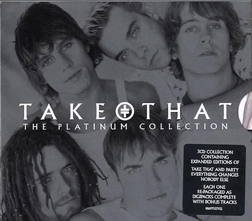 Take That The Platinum Collection 3-CD album set (Triple CD) UK TAK3CTH380494