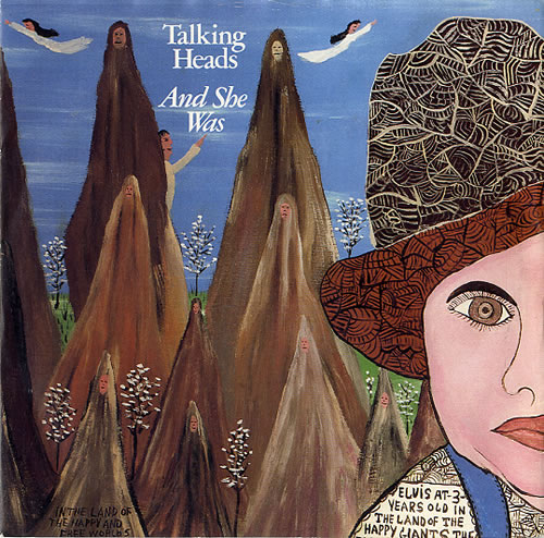 """Talking Heads And She Was - Inj 7"""" vinyl single (7 inch record) UK TAL07AN44845"""