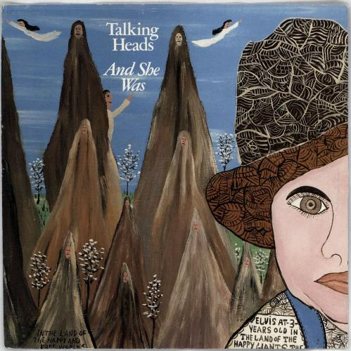 """Talking Heads And She Was 7"""" vinyl single (7 inch record) UK TAL07AN766032"""