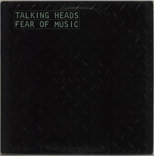 Talking Heads Fear Of Music - EX vinyl LP album (LP record) UK TALLPFE425597
