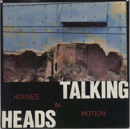 "Talking Heads Houses In Motion 7"" vinyl single (7 inch record) UK TAL07HO172116"