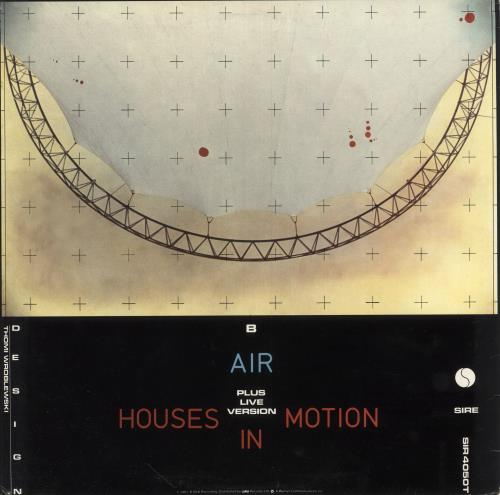 "Talking Heads Houses In Motion 12"" vinyl single (12 inch record / Maxi-single) UK TAL12HO746169"