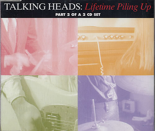 "Talking Heads Lifetime Piling Up - Part 2 CD single (CD5 / 5"") Dutch TALC5LI626982"