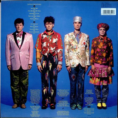 Talking Heads Little Creatures - EX vinyl LP album (LP record) UK TALLPLI256714