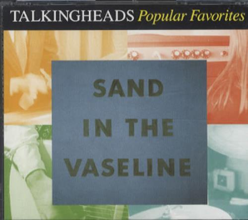Talking Heads Popular Favorites 1976-1992 / Sand In The Vaseline 2 CD album set (Double CD) UK TAL2CPO337482