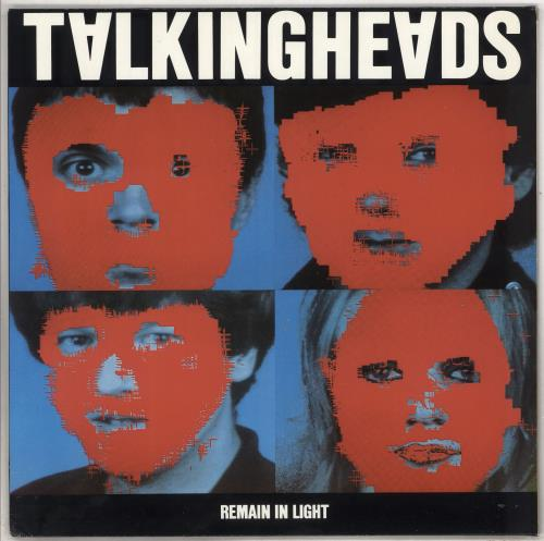 Talking Heads Remain In Light + Lyric Insert vinyl LP album (LP record) German TALLPRE676907