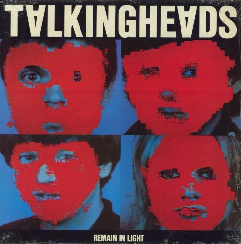Talking Heads Remain In Light - 1st vinyl LP album (LP record) UK TALLPRE355740