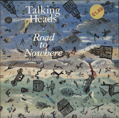 "Talking Heads Road To Nowhere 12"" vinyl single (12 inch record / Maxi-single) UK TAL12RO14150"