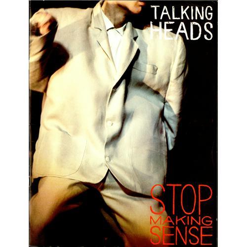 Talking Heads Stop Making Sense + Booklet vinyl LP album (LP record) US TALLPST417318